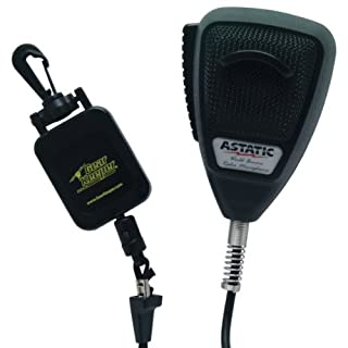 Astatic 302-10162 Noise Canceling 4-Pin CB Microphone with GearKeeper by Astatic