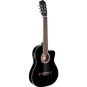 Stagg C546TCE BK–Chitarra acustica classica–nero