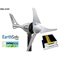 376e48f0b86 molino de viento aerogenerador de energia 500 watios 12 voltios + regulador  de carga (blanco
