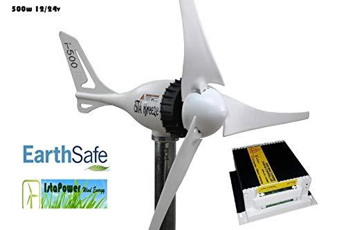 Komplet Paket ISTA-BREEZE® i-500 12V WIND GENERATOR + Laderegler Wind Paket