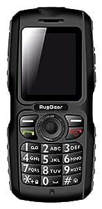 ruggear RG100Housse Appareil Photo Double SIM, 1,3Mpx, mémoire interne 64Mo, Bluetooth (Noir)
