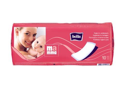 bella Mamma Vlieswindeln: weiche Vorlagen für Wöchnerinnen, 6er Pack (6 x 10 Windeln), ideal für Frauen im Wochenbett