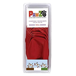 Pawz Waterproof Dog Boots, Small 13