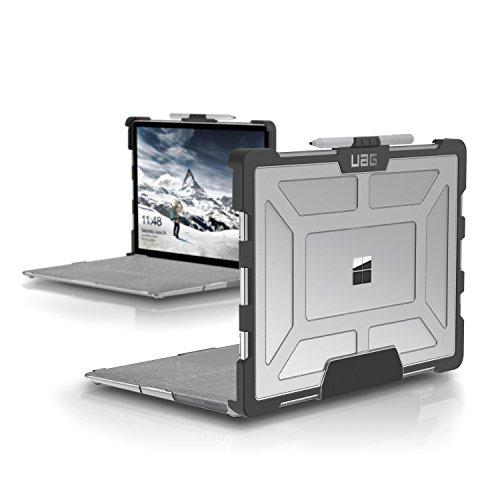 Urban Armor Gear Hardcase Schutzhülle für Microsoft Surface Laptop / Laptop 2 - transparent [Microsoft zertifiziert I Lüftungsschlitzaussparungen I Pen Halterung I Stoßfest] - SFLT-L-IC
