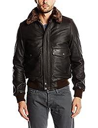 Schott NYC Men's Lc5331x Long Sleeve Jacket