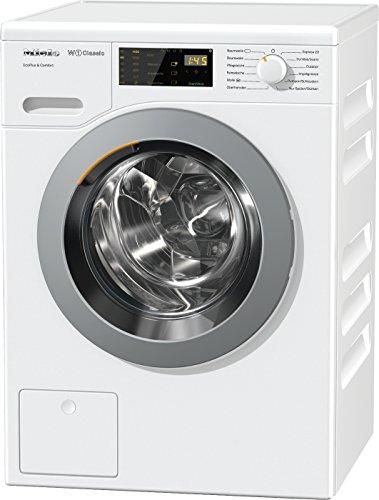 Miele WDD 021 WPS Waschmaschine Frontlader / A+++ / 157 kWh/Jahr / 1400 UpM / 8 kg Schontrommel / Startvorwahl und Restzeitanzeige / Einfache Bedienung per Fingertipp mit DirectSensor