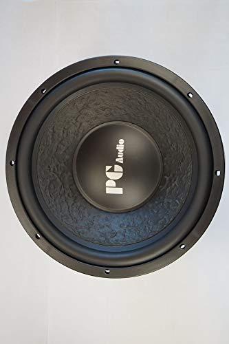 PG Audio 1204 12' 30 cm Subwoofer,Tieftöner,Basslautsprecher 600 Watt max, NEU 4 Ohm 600w Woofer