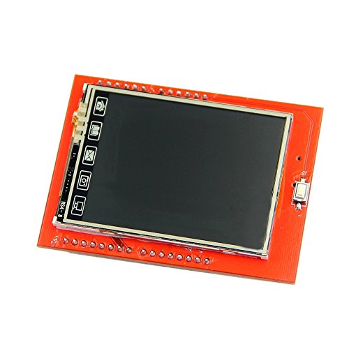 SODIAL 2.4 Zoll Tft LCD Schild berühren Panel Modul Tf Reader Für R3 Analog-resistive Touch Screen
