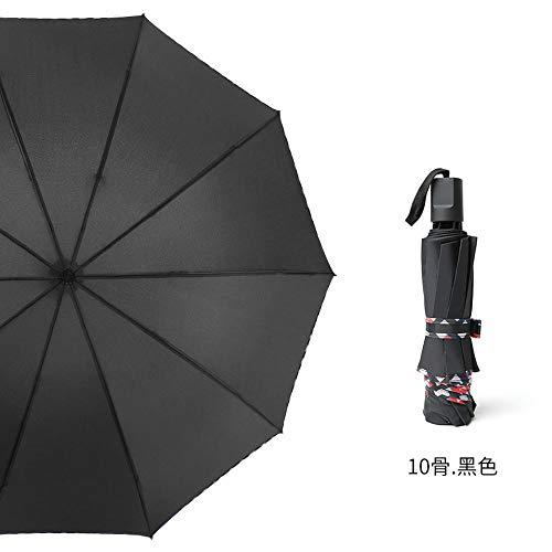 Automatikschirm, Inklusive Regenschirmtasche Und Kofferraum - Automatikschalter, Teflonbeschichtung, Winddichter, Stabiler, Selbstöffnender Doppelschirm Für Damen Und Herren, Super Wetterfes