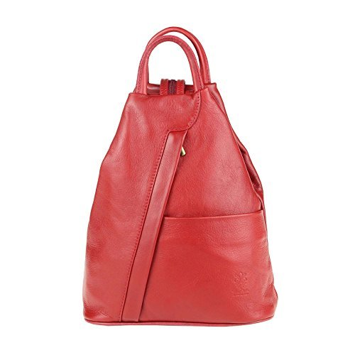 OBC Only-Beautiful-Couture, Borsa a zainetto donna marrone Taupe V1 ca. 25x30x11 cm (BxHxT) rosso