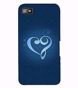 Fuson Designer Back Case Cover for BlackBerry Z10 (Desigener pattern theme)