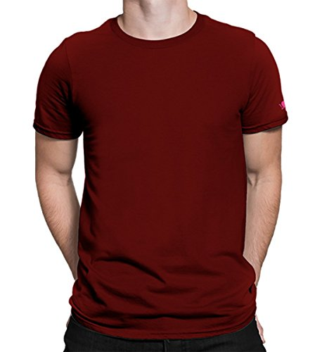 PrintOctopus Plain T-Shirt Men & Women (15+ Colours Available) | Basic T-Shirt | Half Sleeve T-Shirt | Round Neck T Shirt | 100% Cotton T-Shirt
