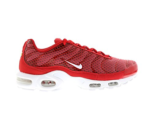 Nike Air Max Plus Txt, Chaussures de Sport Homme Rouge - Rojo (Rojo (University Red/White))