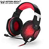 Dailyinshop Each G1000 PC Gaming Bass Stereo Headset Microphone LED Light Laptop Computer