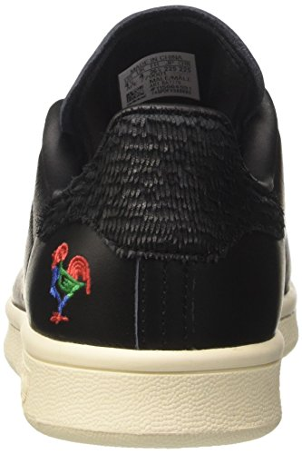 adidas Stan Smith CNY, Sneaker a Collo Basso Unisex-Adulto Nero (Core Black/Core Black/Chalk White)