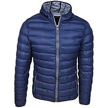 ee70b9a01942 Piumino uomo trade invernale casual giacca giubbotto slim fit con cappuccio