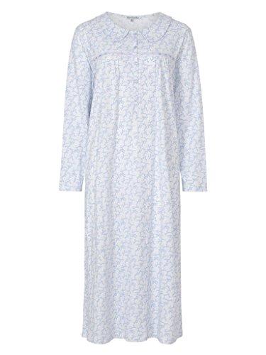 Slenderella -  Camicia da notte  - Donna Blue