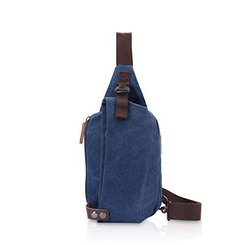 ZMLSXU Mode Sac à Dos Multi-Fonction Portable Messenger Bag Hommes et Femmes Modèles Respirant Porter Sac de Poitrine Multi-Couleur Sélection