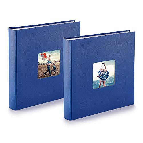 PAZZiMO Álbum de fotos para pegar azul