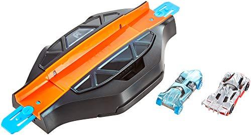 Hot Wheels iD FXB53 - Race Portal mit zwei exklusiven Fahrzeugen mit NFC-Chip zum Scannen in der Hot Wheels iD App, Auto Spielzeug ab 8 Jahren -