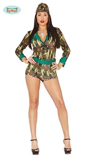 KOSTÜM - SOLDATENGIRL - Größe 38-40 (M), Militär sexy Mädchen Armee Soldier Soldaten Wachsoldat (Frauen Militär Kostüme)