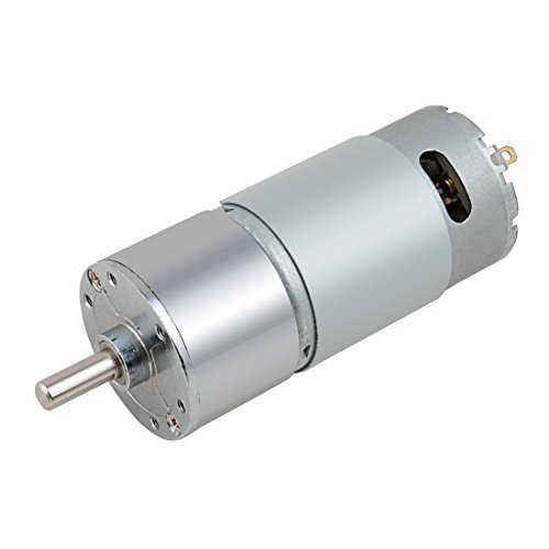 Aexit DC 12V 300RPM Micro Getriebe Motor Geschwindigkeitsreduzierung Antriebswelle