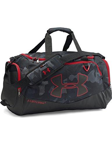 Under Armour Multisport Tasche und Gepäck Sport und Reisetasche Sporttaschen, Schwarz, 56 x 28 x 33 cm, 61 Liter