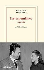Correspondance - (1944-1959) de Albert Camus