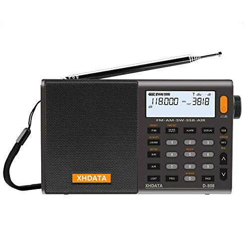 XHDATA D-808 Portable Digital Radio FM Stereo/SW