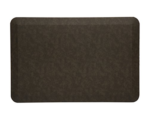 Imprint CumulusPRO Professional Grade Office Standing Desk Anti-Fatigue Comfort Floor Mat 20 x 30 x 3/4 in. Burlap Cocoa