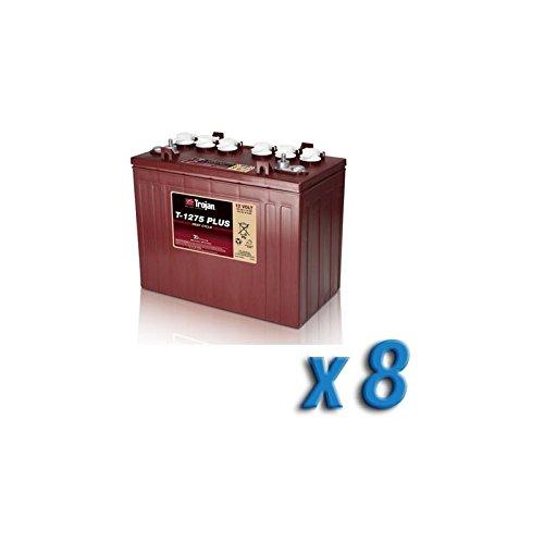 Akku 96V Photovoltaik-Accumulation 8 x T-1275 150 Ah Batterien 12V Trojan