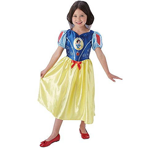 Rubie 's Offizielles Disney Princess Schnee weiß Kinder (Fancy Kostüme Schneewittchen Sieben Dress Zwerge)