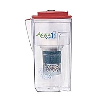 Acala Quell One Himbeere - Aktivkohle Wasserfilter mit höchster Filterleistung | Kreiert köstlich schmeckendes, wohltuendes Wasser