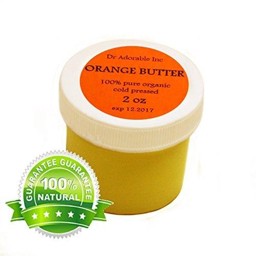 Orange Butter Organic 100% Pure 2 Oz