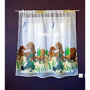 Polontex Disney Gardinen Der Gute Dinosaurier 150 cm Breite x 150 cm Lange Kinderzimmer Vorhang Disney