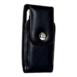 AQ Mobile Real leather vertical belt case for Samsung Galaxy A3 with belt clip and magnetic closure - Premium line