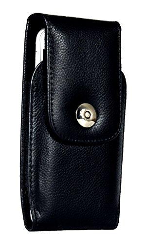 AQ Mobile Vertikale Gürteltasche für Apple iPhone 6/6S/iPhone 7/iPhone 8 aus Leder mit Magnetverschluss und Gürtelclip (NICHT geeignet für iPhone mit Bumper oder zusätzlicher Hülle) - Apple Iphone Holster