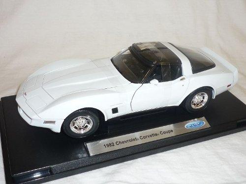 Welly Chevrolet Corvette C3 C 3 Stingray Weiss 1/18 Modellauto Modell Auto