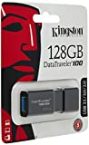 Kingston DT100G3/128GB DataTraveler 100 G3, USB...