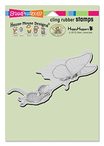Stampendous House Maus Stempel, Butterfly Ride
