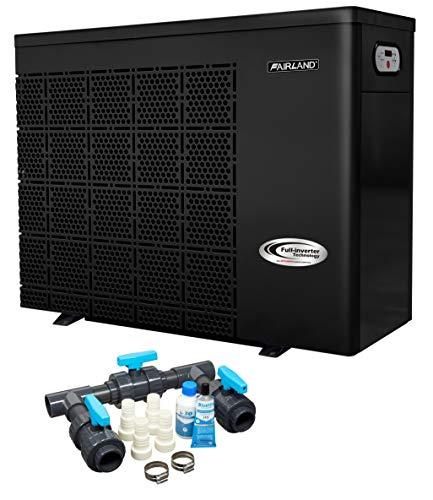 Well2wellness Pompa di Calore Pompa di Calore Full-Inverter Plus Iphc45 By Fiera - Riscaldamento Piscina con una Heizkapazität fino 17,5 Kw + Bypass Set Basic