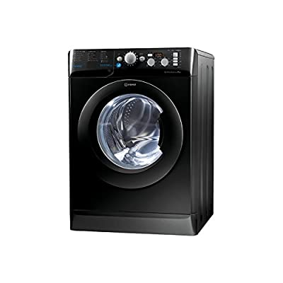 Indesit BWD71453KUK 7kg 1400rpm Freestanding Washing Machine-Black
