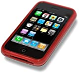 BPM Silicone Case Cover Skin & Screen Protector for Apple iPhone 3G/3GS
