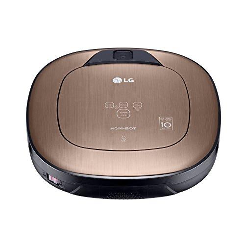 LG Electronics VRD 830 MGPCM Total Care Roboter-Staubsauger (Raumerkennung durch Dual-Kamera System, 4 Reinigungsmodi, inkl. Wischmopp und Teppich- und Tierhaarbürste) metal gold - 8