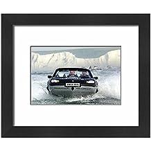 Framed 10x8 Print of Richard Branson - Aquatic Record Attempt (681096)