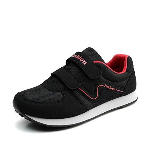 Automne marcher dans des chaussures moyens et vieux/Chaussures anti-dérapant/Formateurs/La fin de la vieille chaussure soft B