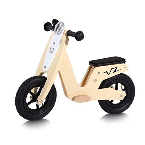 Baby Vivo Laufrad Kinderlaufrad Kinder Fahrrad Lauflernrad Balance Bike mit 10 Zoll Rädern Roller ab 2 Jahren - Capri
