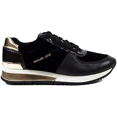 Sneakers MICHAEL KORS Donna ALLIE 43F6ALFS8D001 Nero