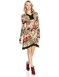 Peace & Love Vestido  Multicolor XL