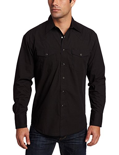 Wrangler Men's Sport Western Snap-Front Long-Sleeve Shirt